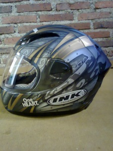 helm full face INK cl primo NMP silver tribal kphmph (4)