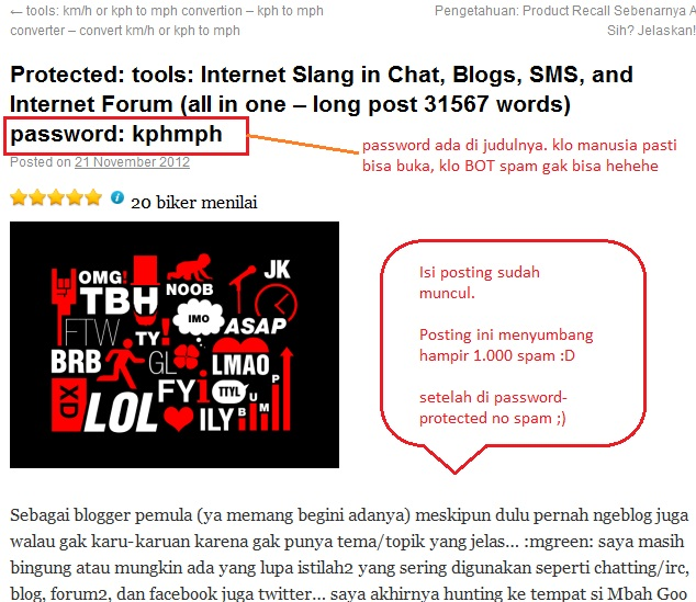 kphmph contoh password protected post