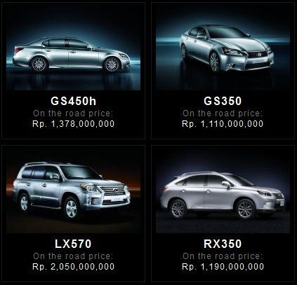 kphmph harga mobil lexus januari 2013 2