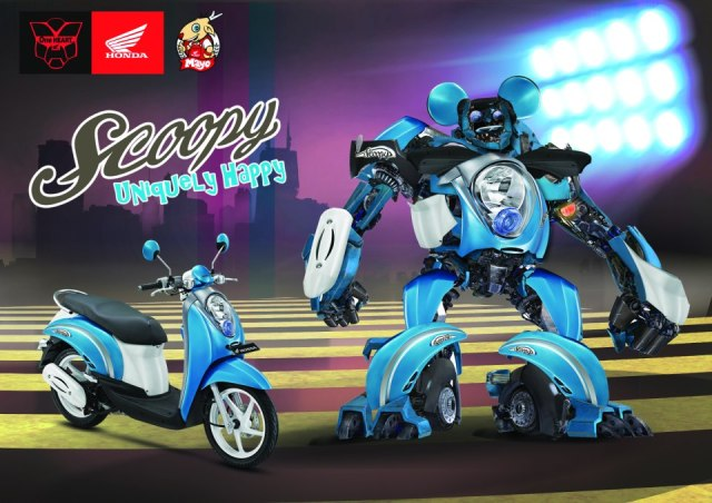 kphmph-honda-scoopy-robot