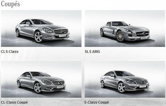 kphmph model varian mobil Mercedes-Benz januari 2013-coupes