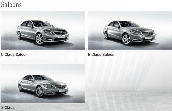 kphmph model varian mobil Mercedes-Benz januari 2013-saloon