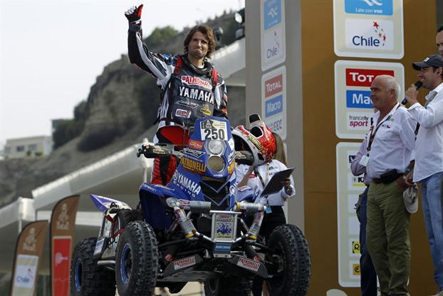 Marcos Patronelli & Yamaha 700 Quad